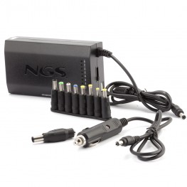 NGS 90W Universal Wall/Car Laptop Charger CW-100 Evolution