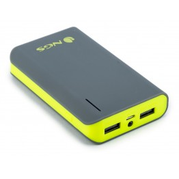 NGS PowerPump 6600mAh Power Bank 2x USB Output