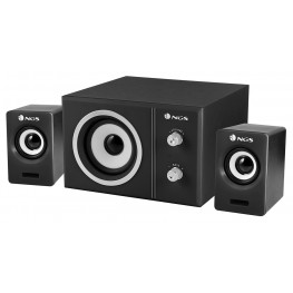 NGS Sugar - 20W USB Powered Multimedia 2.1 Speaker System
