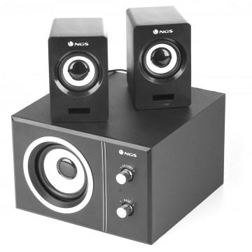 NGS Sugar - 20W USB Powered Multimedia 2.1 Speaker System