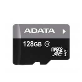 AData Turbo microSDXC UHS-1 CL10 Memory Card width SD adapter 128GB