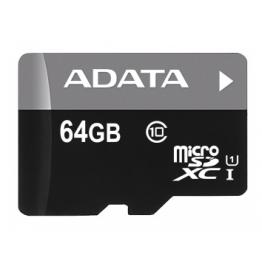 AData Turbo microSDXC UHS-1 CL10 Memory Card width SD adapter 64GB