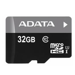 AData Turbo microSDHC UHS-1 CL10 Memory Card width SD adapter 32GB