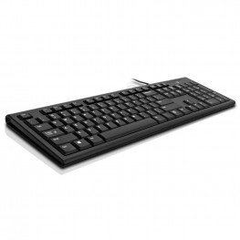 V7 Desktop Keyboard USB Wired Black - UK Layout